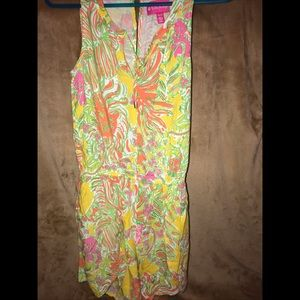 Lilly Pulitzer for Target. Woman's Romper.